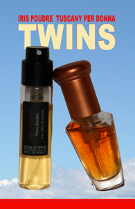Iris Poudre & Tuscany per Donna starring in TWINS
