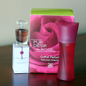 Rose Absolu and Pur Desir de Rose by Yves Rocher