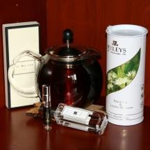 Linden blossom tea and perfume