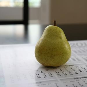 August Pear