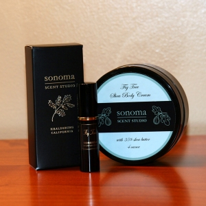 Fig Tree perfume and cream by Sonoma Scent Studio