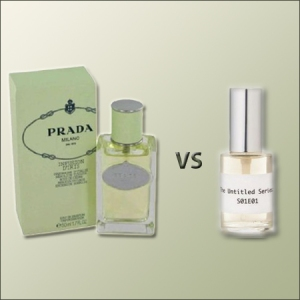 Infusion d'Iris by Prada vs S01E01 by Chandler Burr