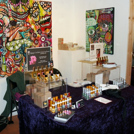 Olympic Orchids at SF First Artisan Fragrance Salon