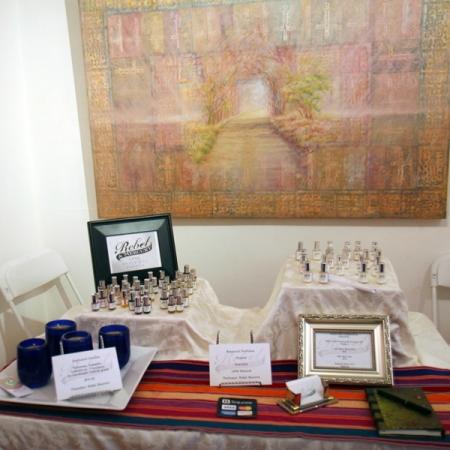 Rebel & Mercury Pure Botanical Perfumes at SF First Artisan Fragrance Salon