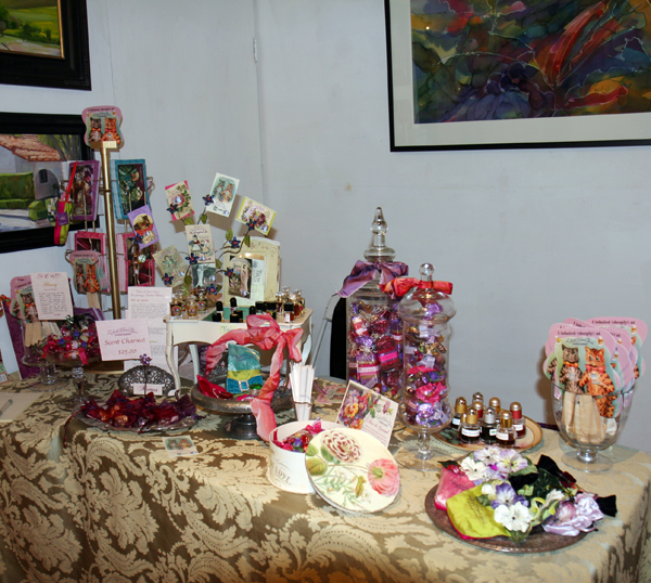Velvet And Sweet Pea's Perfumery at SF First Artisan Fragrance Salon