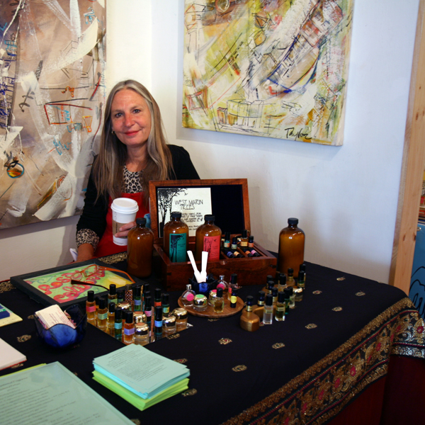Leila Castle Botanical Fragrance at SF First Artisan Fragrance Salon
