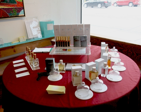 Yosh at SF First Artisan Fragrance Salon