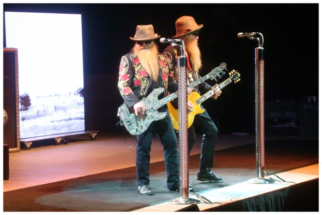 ZZ Top at the Mountain Winery, August 2012