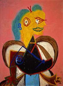 Picasso - Lee Miller Portrait