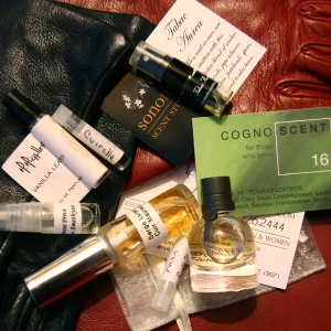 Leather Perfumes Samples