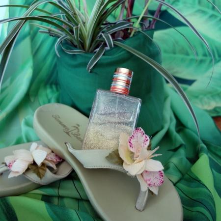 Estee Lauder Bronze Goddess and Shoes