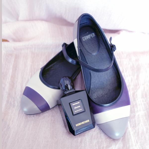 Keiko Mecheri Johana and Shoes