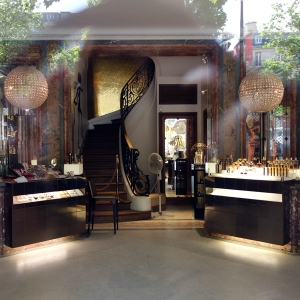 Guerlain store in Paris