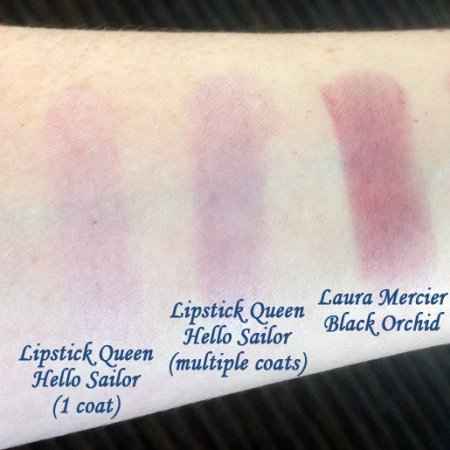 Lipstick Queen Hello Sailor Swatches