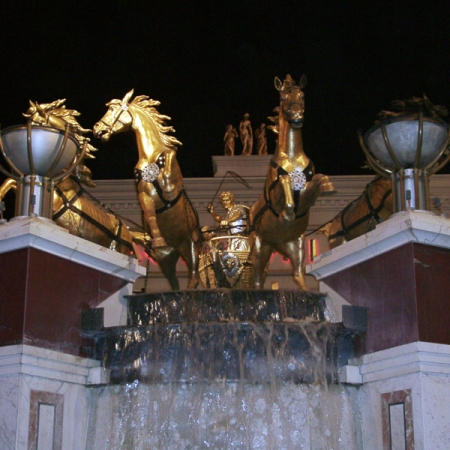 Caesar Palace in Las Vegas
