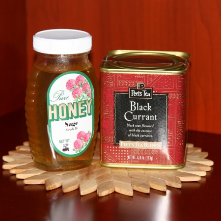 Black Currant tea and Honey
