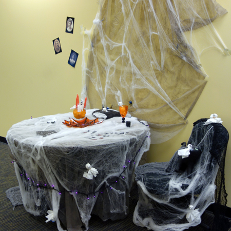 Halloween 2014 Office Decorations