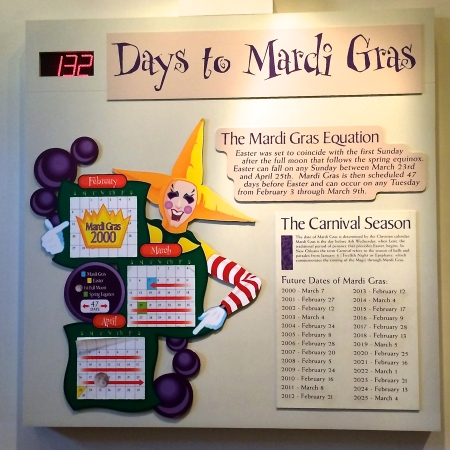 Mardi Gras Countdown