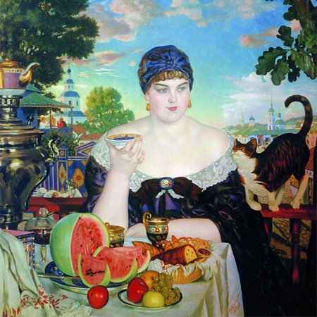 Kustodiev Merchant's Wife