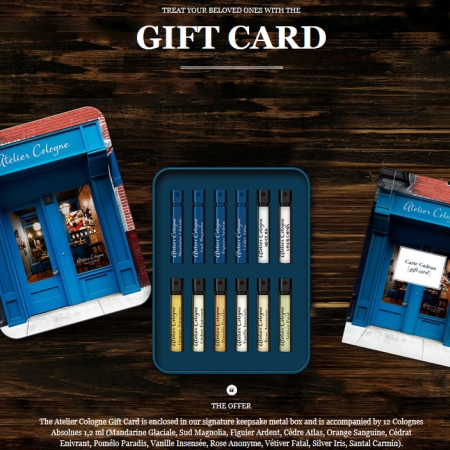 Atelier Cologne Gift Card