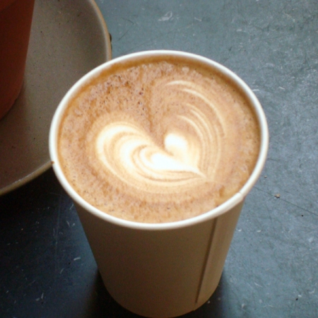 Coffee art - Heart