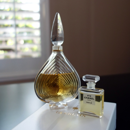 Guerlain Chamade and Chanel No 19