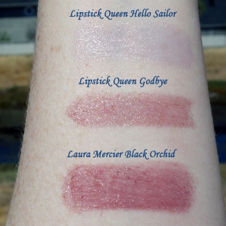 Lipstick Queen Goodbye swatch