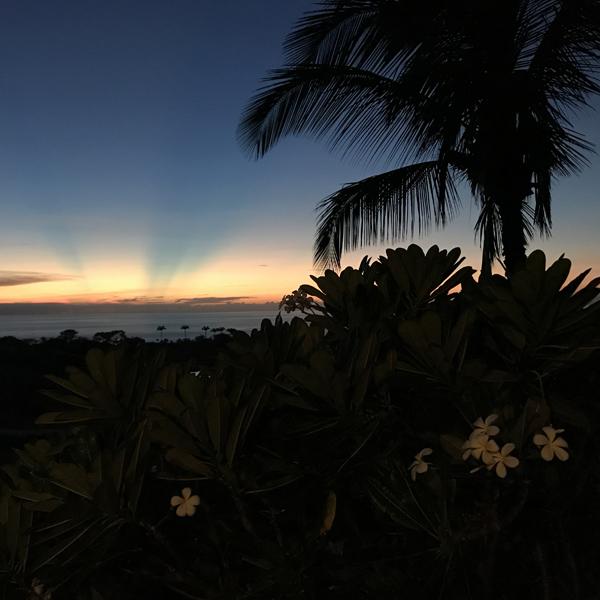 Hawaii Big Island Sunset