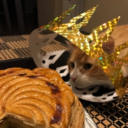 Rusty and Galette des Rois