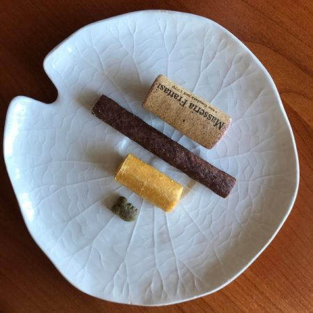 Treats for Rusty and Wine Cork