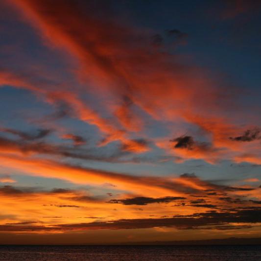 Sunset Big Island Hawaii