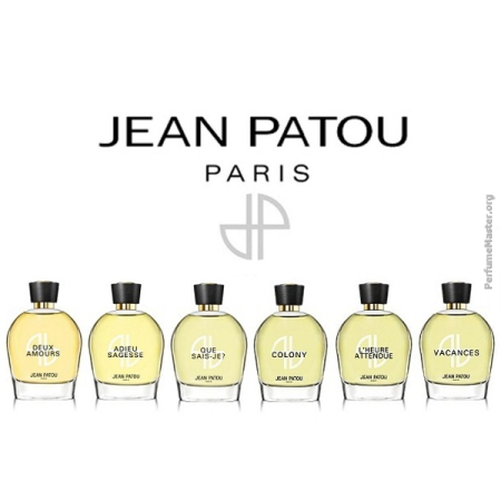 Jean Patou Heritage Fragrance Collection 2014