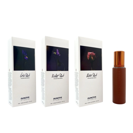 Olfactive Studio Perfumes: Three Shots
