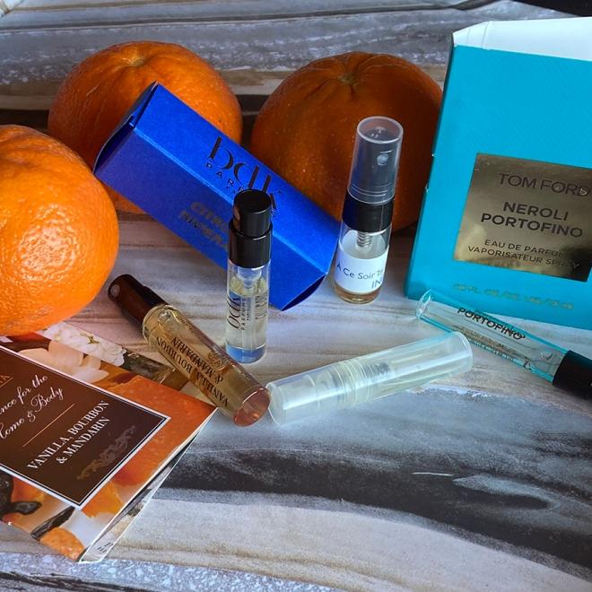 Mandarin Perfumes Samples