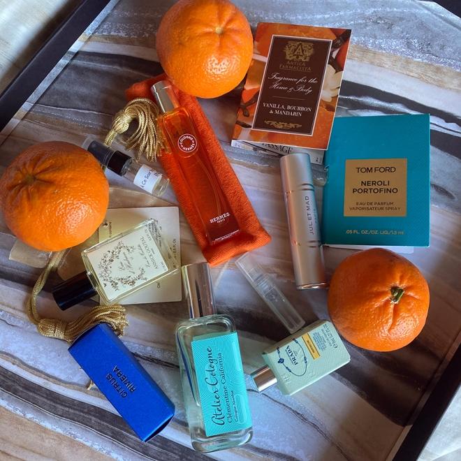 Mandarin Samples and Perfums