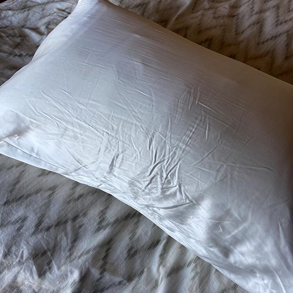 Blissy Silk Pillowcase Slept On